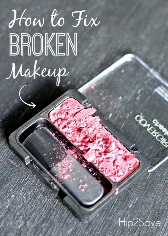 How to fix broken makeup Hip2Save