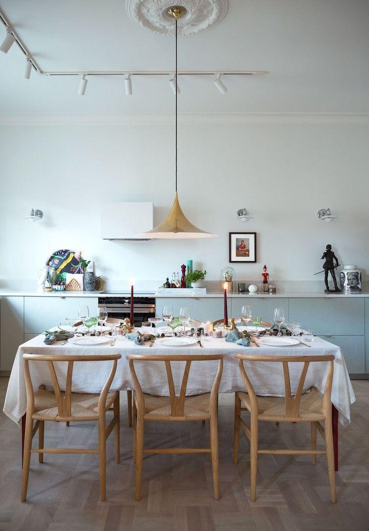 Gorgeous 44 Stunning Scandinavian Dining Room That Inspire Http Decorhead Co Scandinavian Dining Room Interior Design Kitchen Contemporary Dining Room Design