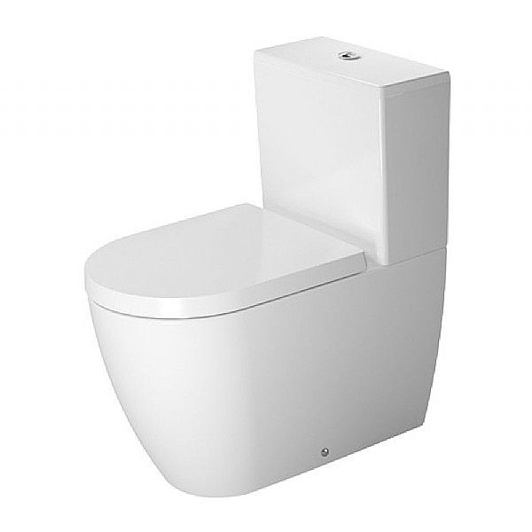 Duravit ME by Starck Close-Coupled Toilet | Toilets | From C.P. Hart