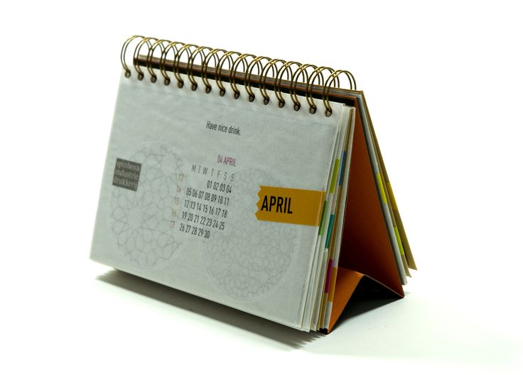 Gold Award for Spinhex & Industry 2010 Calendar by Lava (2010)