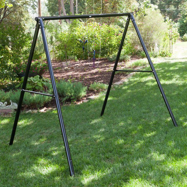 Flexible Flyer Metal Lawn Swing Frame - $84.49 @hayneedle