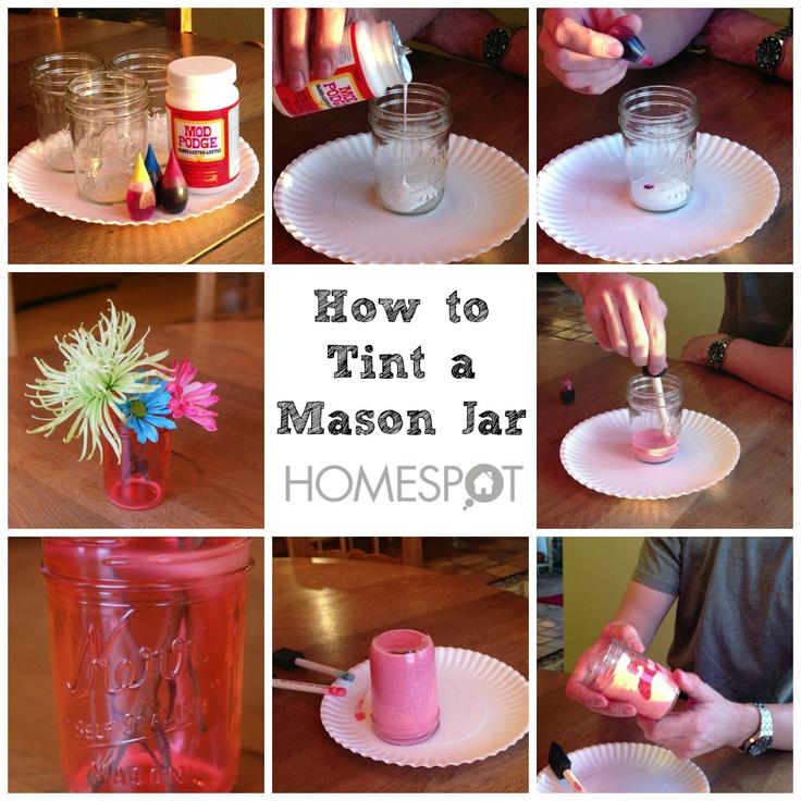 25 Unique Tinting Mason Jars Ideas On Pinterest Tinting