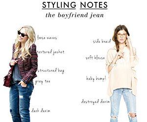 20 Style Tips On How To Wear Boyfriend Jeans Boyfriend