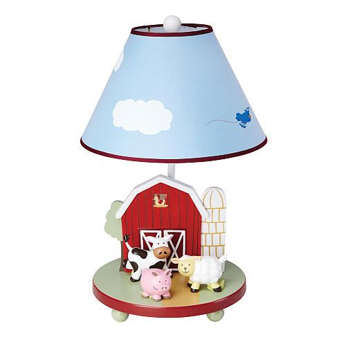 "Farm Friends Table Lamp - Guidecraft USA  - Babies""R""Us"