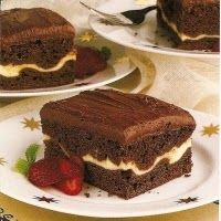 A chocoholic's dream cake!     photo from Pinterest   If you like chocolate as much as I do, this cake is for you!  Rich, moist, dense, crea...