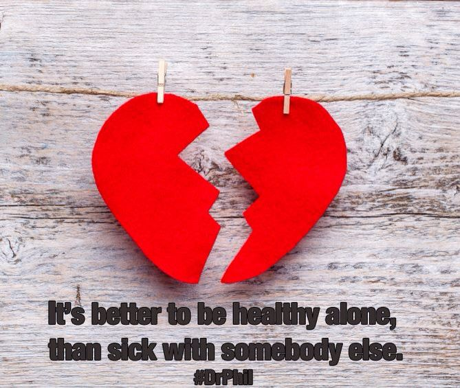 Healthy alone