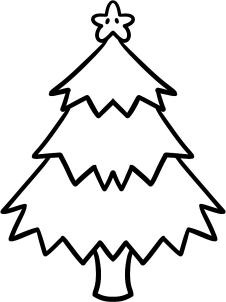 how to draw a christmas tree for kids step 6