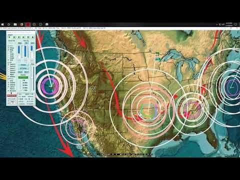 1/16/2019 -- Large M6 8 (M6 6) Earthquake + USA Earthquakes