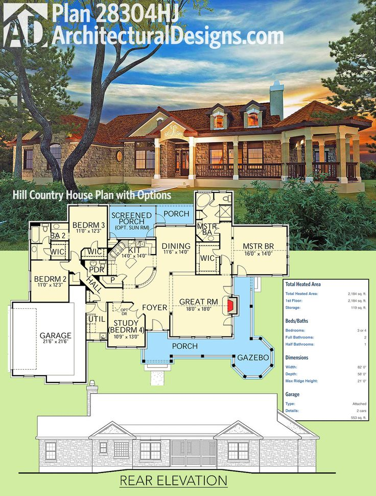 42 Best Hill Country House Plans Images On Pinterest