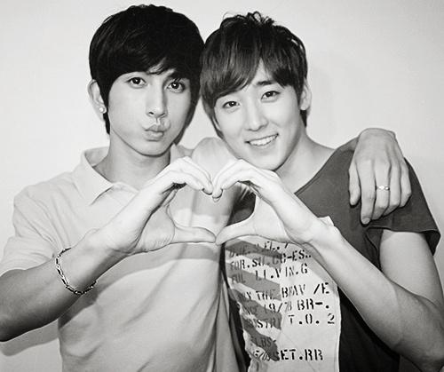 Kevin & Kiseop <3