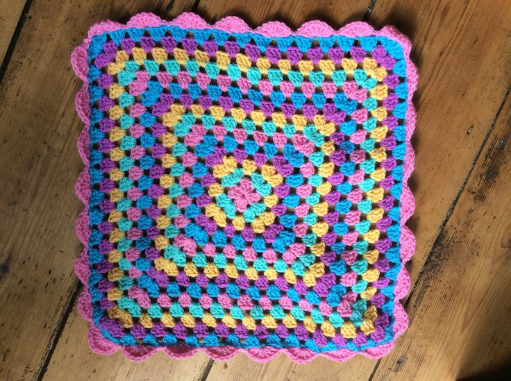 A dolly blanket. Given to a friend's daughter on her third birthday!