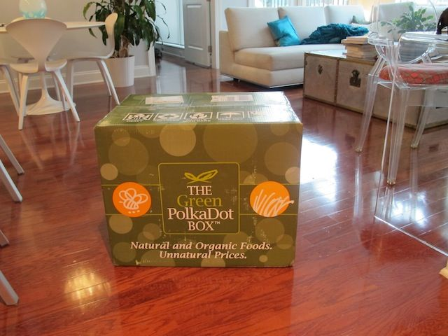 Organic food delivery service by Green PolkaDot Box, Organic food at Costco, Sams Club