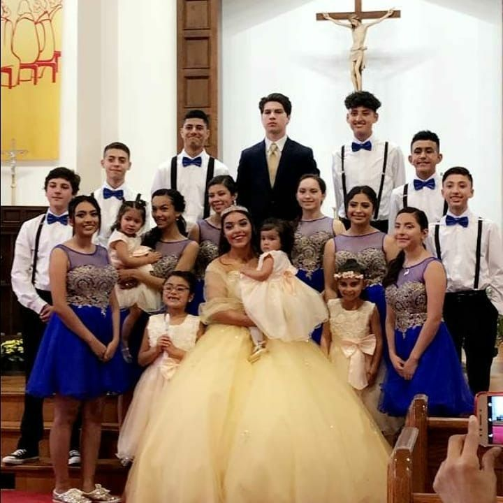 Beauty And The Beast Quinceanera Court Beauty And The Beast