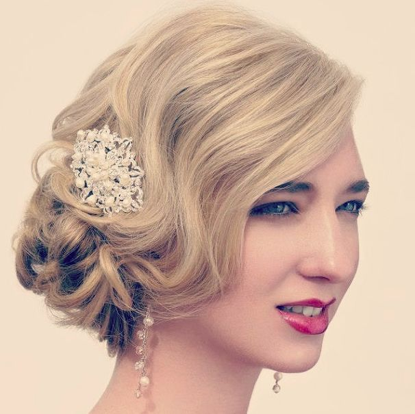 Top 20 Fabulous Updo Wedding Hairstyles: 137 Best Images About Bridal Styles On Pinterest