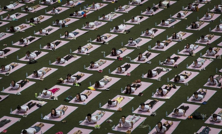 Beijing, China | 18 Spectacular Pictures From The First International Day Of Yoga