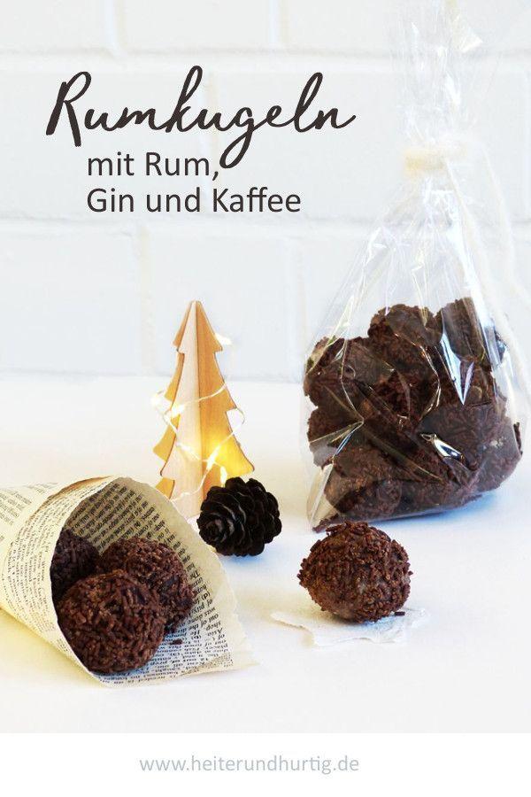 Rumkugeln dreierlei | German Blogger *Food* | Pinterest ...