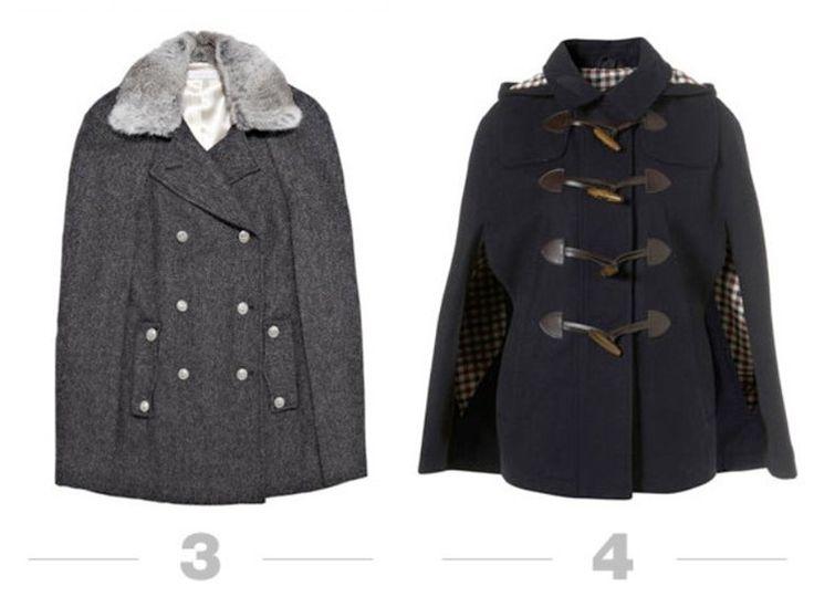 » Продолжение. Шьем самое модное в этом сезоне пальто… кейп, пончо или просто накидку! Идеи для вдохновения!