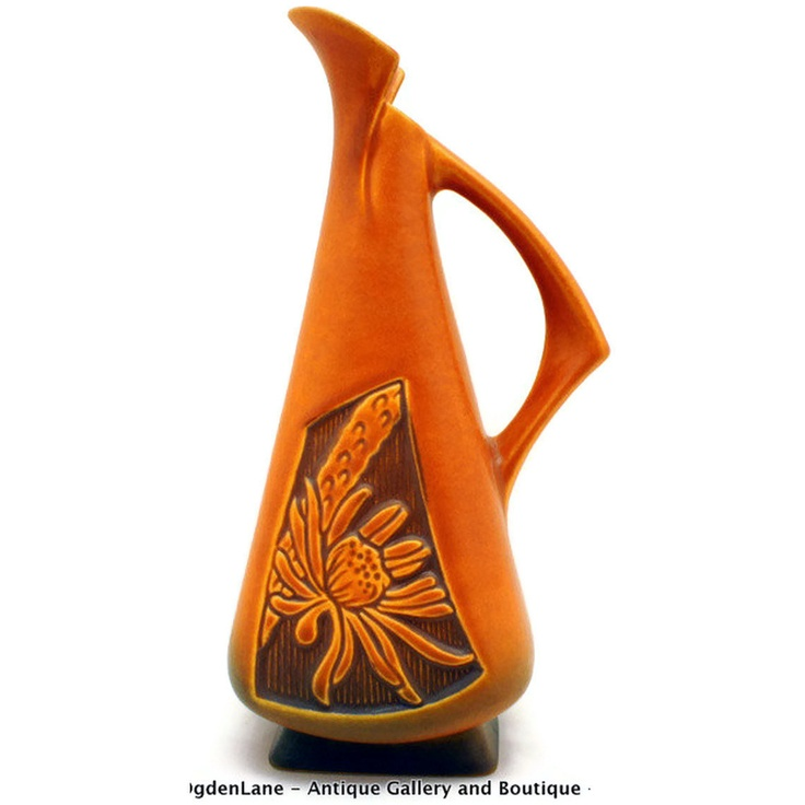 21 Best Roseville Pottery Images On Pinterest Roseville