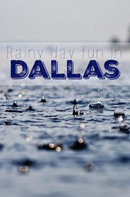 Rainy days call for an adjusted agenda! Check out some of the best things to do in Dallas on a rainy day!