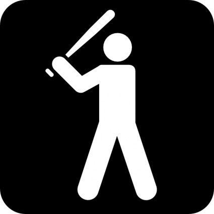 baseball sign...cute for boys bathroom door