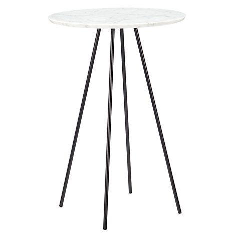 Buy John Lewis Capri Marble Top Side Table Online at johnlewis.com