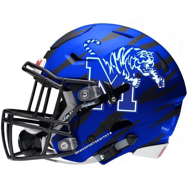 University of Memphis Tigers Concept Helmet