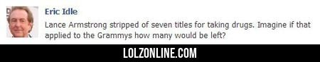 Lance Armstrong Stripped Of Seven Titles #lol