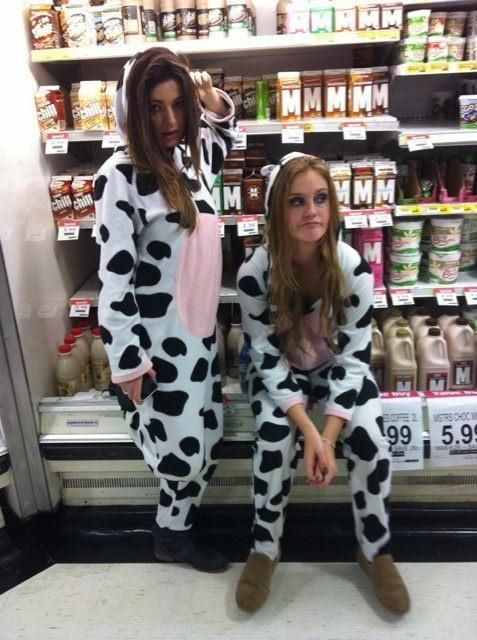lets get cow suits?
