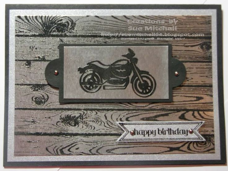stampin up masculine card - Google Search