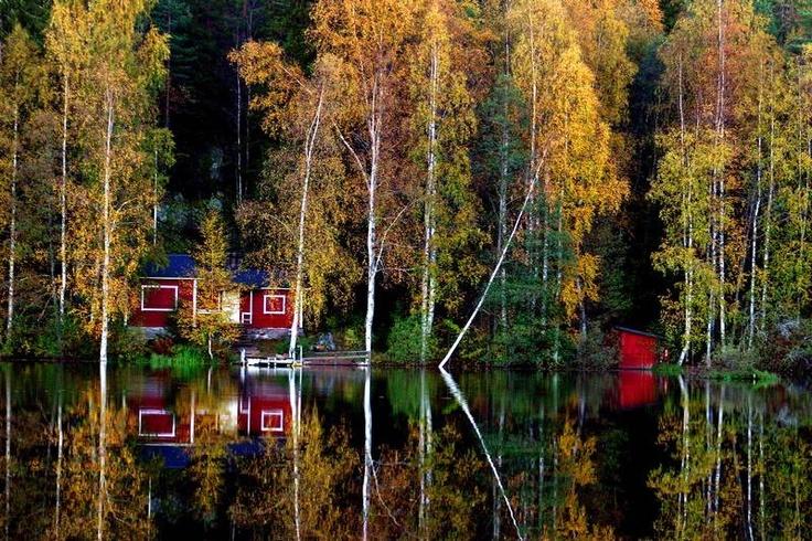 Halimasjarvi in Tampere, Finland
