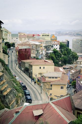 Valparaiso, Chile --- Cerro Alegre - Cerro Concepción --- Im.085
