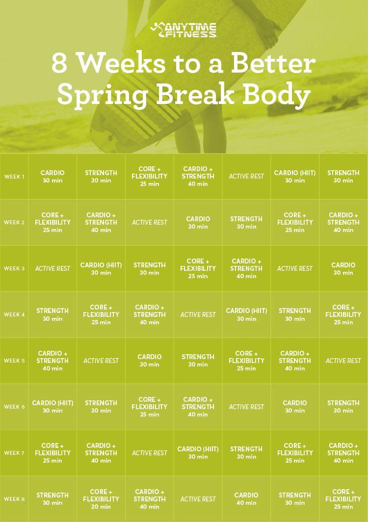 This plan will get you in shape for spring break!  --> http://blog.anytimefitness.com/spring-break-body-fitness-plan/