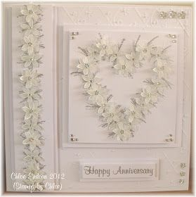 Hi All,  Today I have a card made with the BRAND NEW Stamps by Chloe stamps. Today I have chosen a card using the Flower Wreath and Flower B...