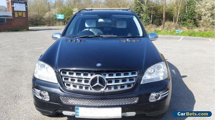 Mercedes ML320 Sport - Black #mercedesbenz #ml320 #forsale #unitedkingdom
