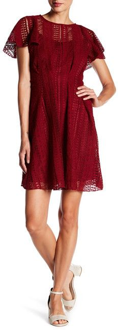 Eva Franco Lilou Short Sleeve Dress