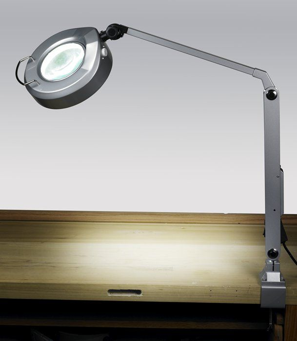 Jewelers Magnifier Task Lamp This High Quality Lamp