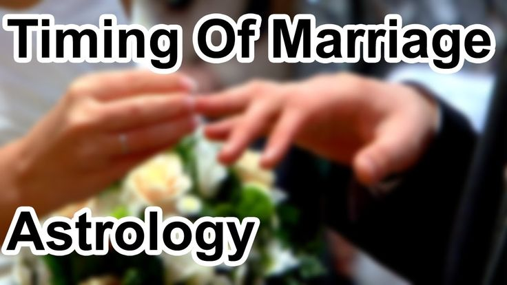 Timing Of Marriage In Astrology (Horoscope Secrets)