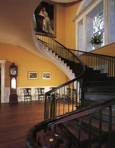 Floating staircase at the Nathaniel Russell house in Charleston where I live :)