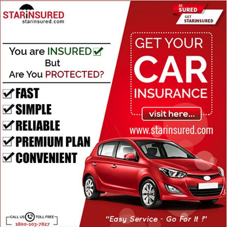 Car Insurance Online- Save Upto 70%*, Buy Policy at STARiNSURED - Hyderabad
