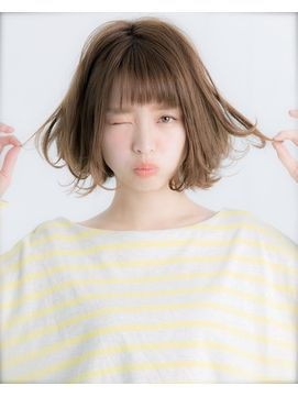 【Euphoria】大人かわいいフリンジバングボブ☆タンバルモリ/Euphoria 【ユーフォリア】SHIBUYA GRANDEをご紹介。2017年秋の最新ヘアスタイルを100万点以上掲載!ミディアム、ショート、ボブなど豊富な条件でヘアスタイル・髪型・アレンジをチェック。