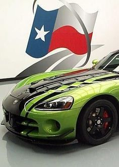 Yeeeehhhaaaa! 2010 Dodge Viper Texan style! Hit the pic to check it out... #spon