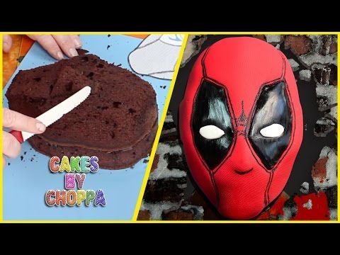 DeadPool Cake (How To) - YouTube