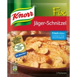 Knorr Fix Jägerschnitzel