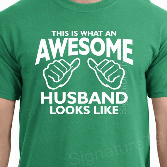 Wedding Gift for Him / New Husband Gifts / by signaturetshirts