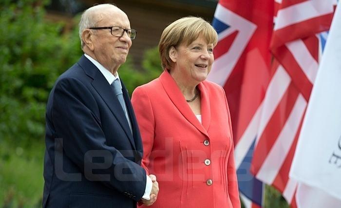 Entretien téléphonique Caïd Essebsi-Merkel... Chahed à Berlin au début de 2017
