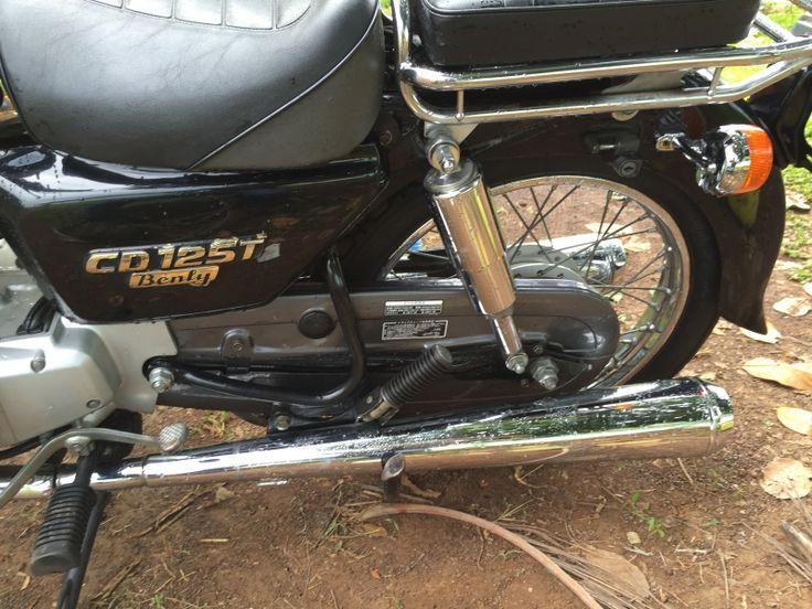 Ban Honda Benly CD125T Dated 2001 Cuc Dep Zin Va May Moc Rat Em