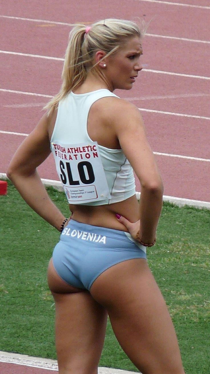 Female Athlete Ass 105