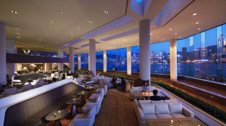The ultimate lobby bar at Intercontinental, Hong Kong