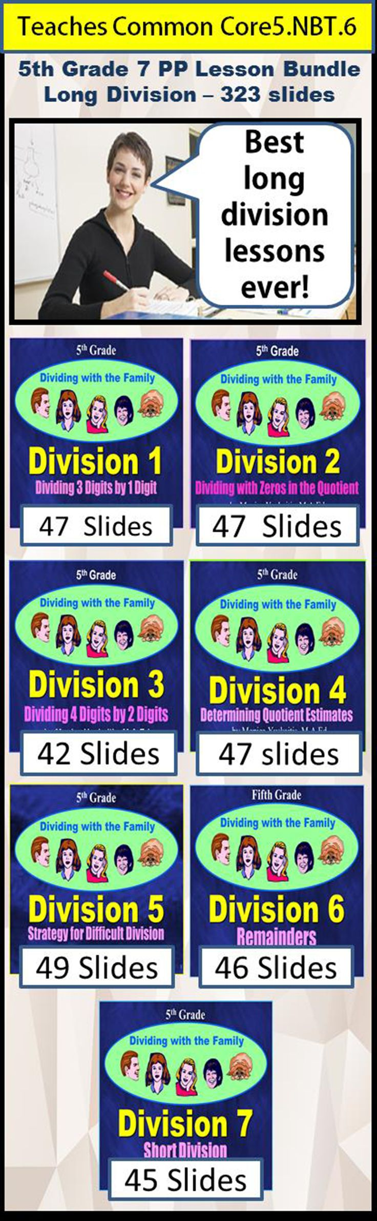 Worksheet How To Learn Long Division the 25 best long division strategies ideas on pinterest common core 5th bundle 7 lessons 323 slides