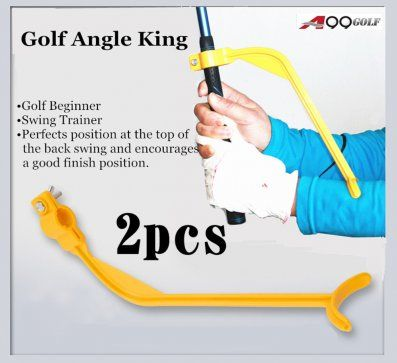 A99 Golf Angle King Wrist Swing Trainer Guide 2 pcs